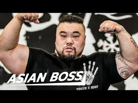 Meet The Strongest Man In China | ASIAN BOSS