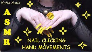 💤 ASMR - NAIL CLICKING + SKIN SCRATCHING + HAND MOVEMENTS
