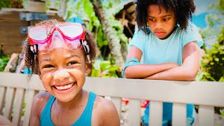 Don't Say No to My Little Sister at the Waterpark! Saying Yes to Everything at Disney Typhoon Lagoon