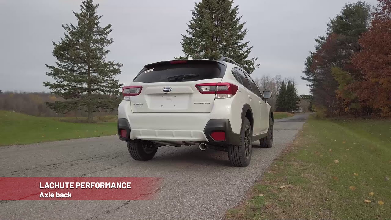 Lachute Performance Axle Back - 2018+ Subaru Crosstrek