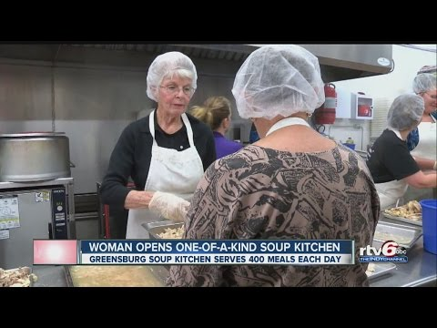 Greensburg woman opens one-of-a-kind soup kitchen
