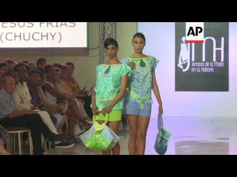 Despite setbacks, Cuba fashion scene on the rise