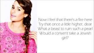 Glee - You Are Woman, I Am Man (Lyrics)