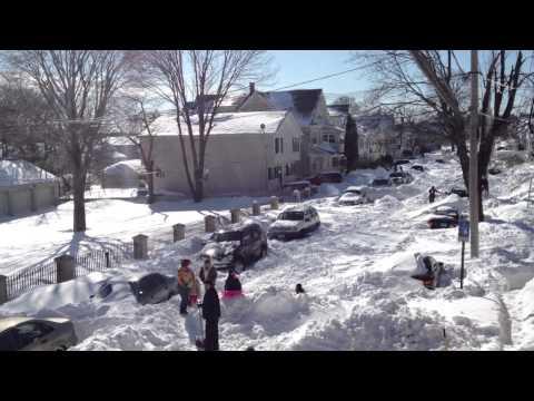 Bridgeport ct Blizzard 2013