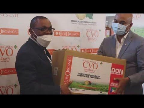 COVID-Organics: Madagascar donates 'cure mixture' to Equatorial Guinea