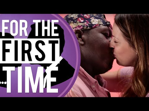 White Girls Kiss Black Guys 'For the First Time'