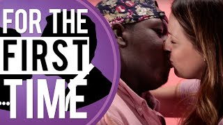 White Girls Kiss Black Guys 'For the First Time'(Subscribe today! http://www.youtube.com/user/alldefdigital?sub_confirmation=1 Kate Quigley and Dana Moon get the opportunity to make out a with a black guy ..., 2015-08-29T18:00:00.000Z)
