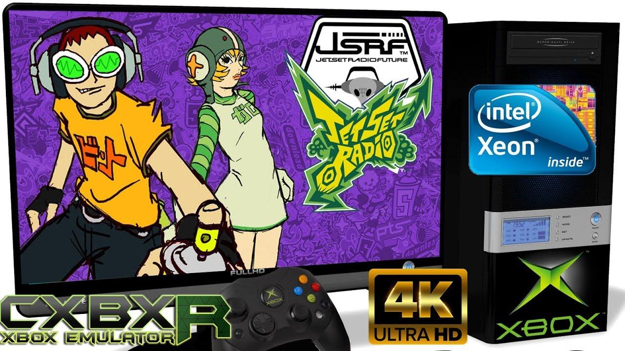 CXBX-R v0 1 [Xbox Original] - Jet Set Radio Future [4K-Gameplay] Xeon  E5-2650v2 #3