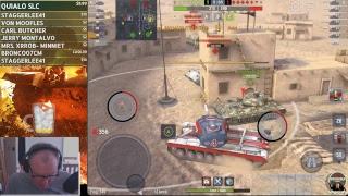 World of Tanks Blitz with Bushka
