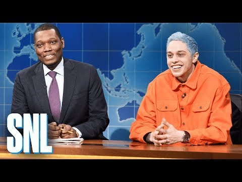 Weekend Update: Pete Davidson's First Impressions of Midterm