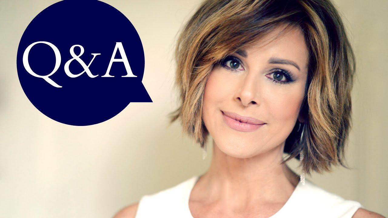 Q Hairstyles For Short Hair: Q&A - YouTube