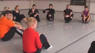 Мастер класс по танцу-игре для маленьких (3-4 лет).