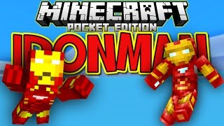 [0.10.5] Iron Man Mod! - Minecraft Pocket Edition - (DOWNLOAD)