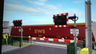 * Late Start* Clay Junction Level Crossing ROBLOX