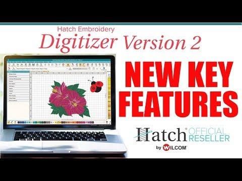 Hatch Embroidery Digitizing Software Version 2 Upgrade Bonus