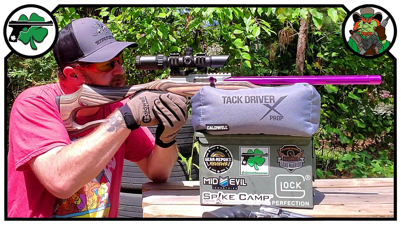 Tack Driver X Prop Shooting  Bag From Caldwell | Quick Look