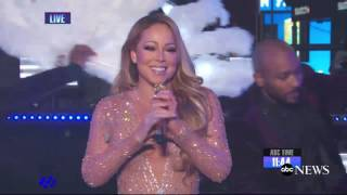 Mariah Carey Says She's 'Mortified' by Her New Year's Eve Mishap