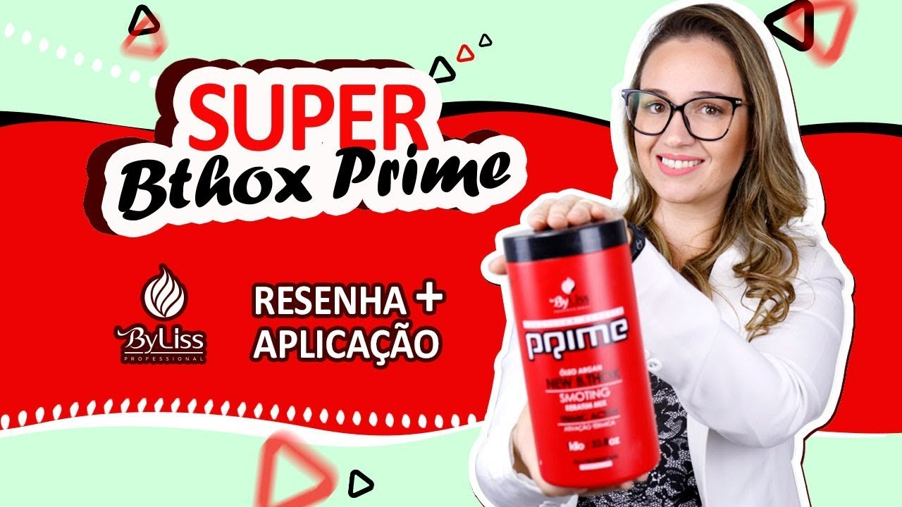 bbb85f466 Botox Capilar Prime | Byliss | Resenha + Passo a Passo - YouTube