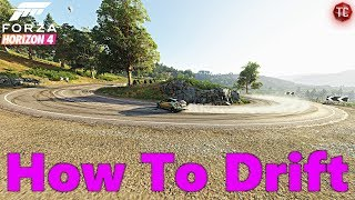How To Drift In Forza Horizon 4 (For Beginners)