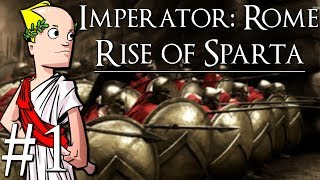 Imperator: Rome | Sparta | Part 1 | Introduction to the Game