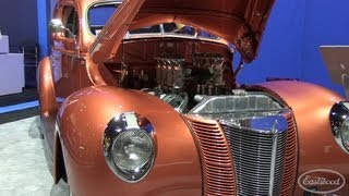 1940 Ford Street Rodder Car built by Troy Ladd - Hollywood Hot Rods - from Eastwood