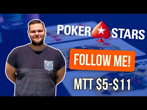 MTT $5-11 at PokerStars & Natural8 by Markus Moergis