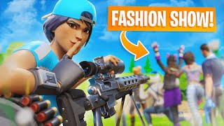 I Stream Sniped Fashion Shows for 24 Hours...