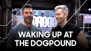 Working out at Dogpound NYC with Million Dollar Listing's Ryan Serhant | Vlog 02
