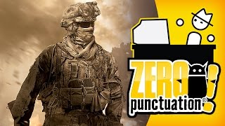CALL OF DUTY: MODERN WARFARE 2 (Zero Punctuation) (Video Game Video Review)