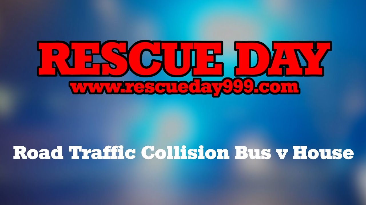 Road Traffic Collision Bus v House