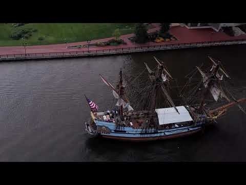 Wilmington (Delaware) Waterfront by drone