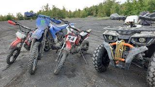Фото WYPAD Z EKIPĄ - Yamaha YZ250F, Benyco Thor, 2 Pitbike