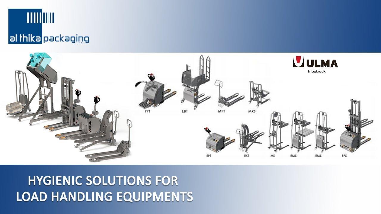 ULMA Inoxtruck hygienic load handling equipment lifter Al