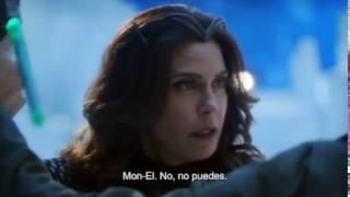 supergirl S02e17 Queen Rhea hurt supergirl