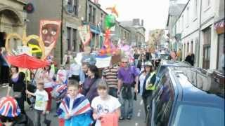 Bentham Jubilee procession - The largest flotilla ever assembled on dry land.