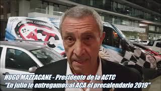 Mazzacane anticipa el inicio del TC 2019 thumbnail