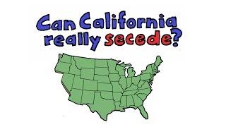 Can California Really Secede?