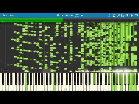 Weird Genius - WKWK Land Piano Version [Piano Tutorial] (Synthesia)