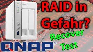 Raid in Gefahr? QNAP Recovery Test