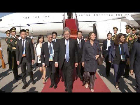 Italian Prime Minister Arrives in Beijing for Belt and Road Forum
