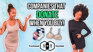 Trying Fashion Brands That DO GOOD and GIVE BACK!! [ThirdLove, Bombas & MORE!]