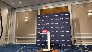 #UFCBoston official weigh-ins.