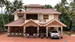 Brand New 4 Bedroom Double Story House Built For 55 Lakh With Luxury Interior   Video Tour