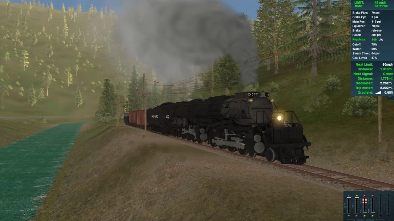 Trainz: Driving with the Big Boy