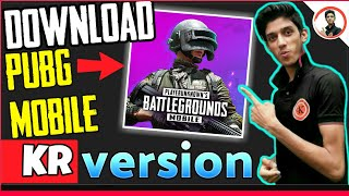 Gambar cover how to download pubg mobile kr version || how to download pubg mobile kr version from playstore