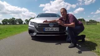 Volkswagen VW Arteon First Drive,  Video Review, Erste Fahrt, Fahrbericht, Test, Videofahrbericht