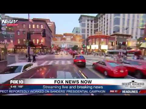 WATCH: President Trump's Motorcade Through Washington D.C. Plus Barron Trump