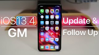 iOS 13.4 GM - Follow Up Review