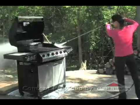 How To Clean Grills with a Briggs and Stratton Pressure Washer