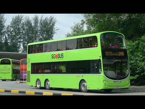 SBS Transit Bus Service 248, SG5470G (Full Trip)